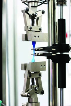 Tensile strength and elongation test