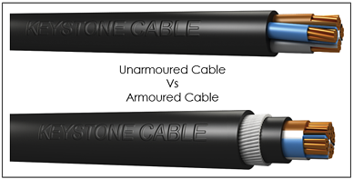 Unarmoured vs Armoured Cables